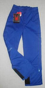 150-NEW-SPYDER-SKI-SNOWBOARD-INSULATED-MIMI-PANTS-KIDS-GIRLS-18-BLUE