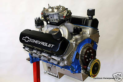 454ci Big Block Chevy Pro-Street Engine 500hp+ Built-To-Order Dyno Tuned