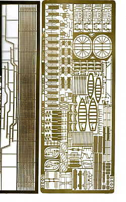 TOM's 1/350 HMS HOOD Photo-etched details set 3556