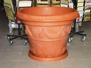 Vaso Ciotola da giardino per piante e fiori gigante  eBay
