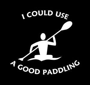 Good-Paddling-Kayaker-Decal-Kayaking-Sticker-Kayak-Car