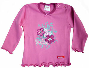 Neu-Whoopi-Langarmshirt-Shirt-Pulli-Longsleeve-Pink-Baumwolle-Gr-62-und-110