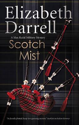 Very Good Darrell, Elizabeth, Scotch Mist (Max Rydal Mysteries), Hardcover, Book