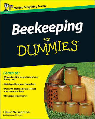 Beekeeping For Dummies by David Wiscombe, Howland Blackiston (Paperback, 2011)