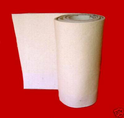 """FM18OWS Off-White Felt 28"""" Wide x 9"""" Long x 1/8"""" Thick Soft F-10 from Duro-Felt"""