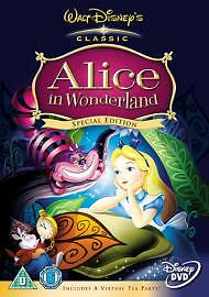 Alice In Wonderland (DVD, 2005) Walt Disney Classic Special Edition