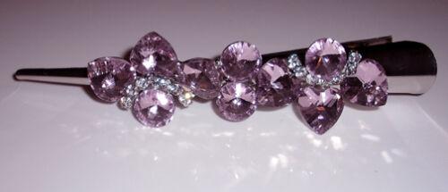 Crystal Concord Hair Clip Made Wth Swarovski Crystals