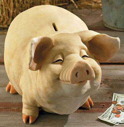 Piggy banks collection on ebay - Resin piggy banks ...