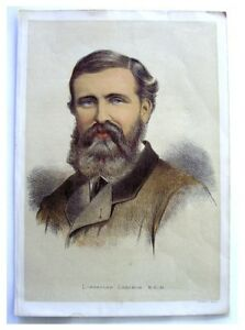 1876 Color Engraving - LOVETT VERNEY CAMERON - Africa