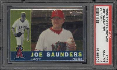 PSA - Angels Joe Saunders C63