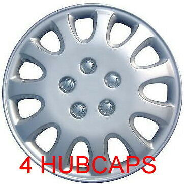 """14"""" SET OF 4 TOYOTA 1994 COROLLA HUBCAPS NEW ABS WHEEL COVERS FIT MOST 14"""" RIMS"""