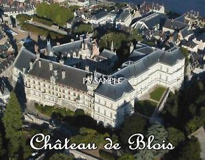 France-Chateau-de-Blois-Travel-Souvenir-Flexible-Fridge-Magnet