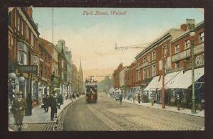 Staffs-WALSALL-Park-St-1912-PPC