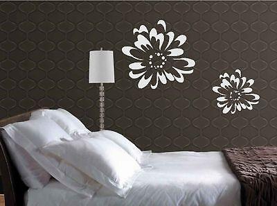 Flower Burst Vinyl Wall Decal Lettering Decoration Art