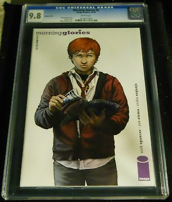 MORNING GLORIES #5 CGC GRADED 9.8 VARIANT COVER