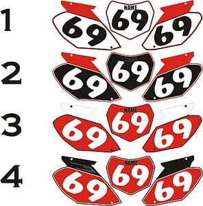 1988-1989-Honda-CR250-250-CR-Number-Plates-Side-Panels-Graphics-Decal