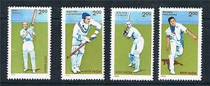 India 1996 Cricketeers SG 1654/7 MNH