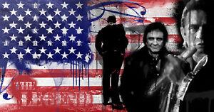 Johnny-Cash-24-034-x36-034-Canvas-Art-Print