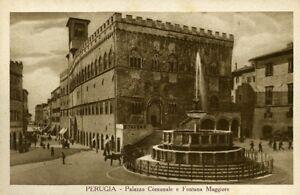 034-PERUGIA-Palazzo-Comunale-e-Fontana-Maggiore-034-Periodo-Anni-40