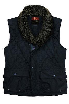 Quilted Vest Kakadu Traders Australia, very WARM UNISEX Black and Navy Vest