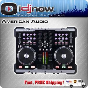 AMERICAN-AUDIO-VMS2-2-Channel-Midi-DJ-Controller-with-Virtual-DJ-LE-VMS-2