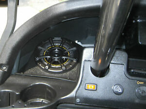 Club Car Precedent Golf Cart Stereo Radio Speaker Pods Enclosure
