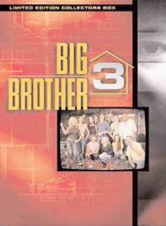Big Brother 3 (DVD, 2003, 9-Disc Set) FREE SHIP