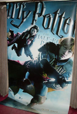 Cinema Banner: HARRY POTTER HALF BLOOD PRINCE 2009 (Weasleys) Rupert Grint