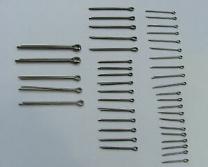 STAINLESS-STEEL-SPLIT-COTTER-PIN-VARIOUS-SELECTION