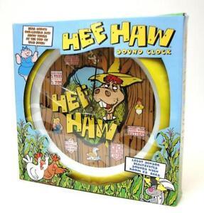 Hee-Haw-Talking-Sound-Wall-Clock