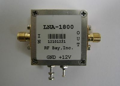 1KHz-1800MHz 30dB Low Noise Amplifier, LNA-1800, SMA