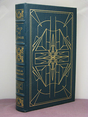 1st,signed by 2(authr,art),Venus 3:Child of Venus by Pamela Sargent,Easton Press