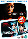 Phone Booth/Independence Day (DVD, 2007, 2-Disc Set)