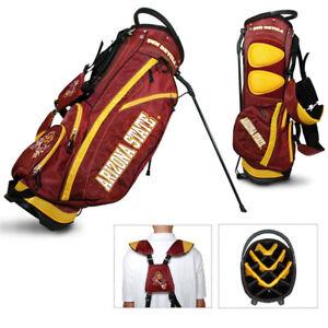 NEW-Arizona-State-St-Sun-Devils-Team-Golf-Stand-Bag