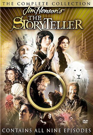 THE STORYTELLER THE COMPLETE COLLECTION Jim Henson (DVD, 2003)