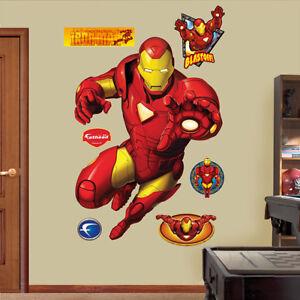 The Avengers Invinciable Iron Man Fathead Marvel Comics Brand New 96009