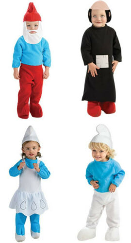 Infant Newborn TV The Smurfs Character Smurf Costume