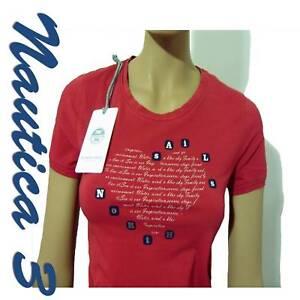 Taglia Mezza Xs Manica T Sails shirt Rossa Donna North R6w0UxFF
