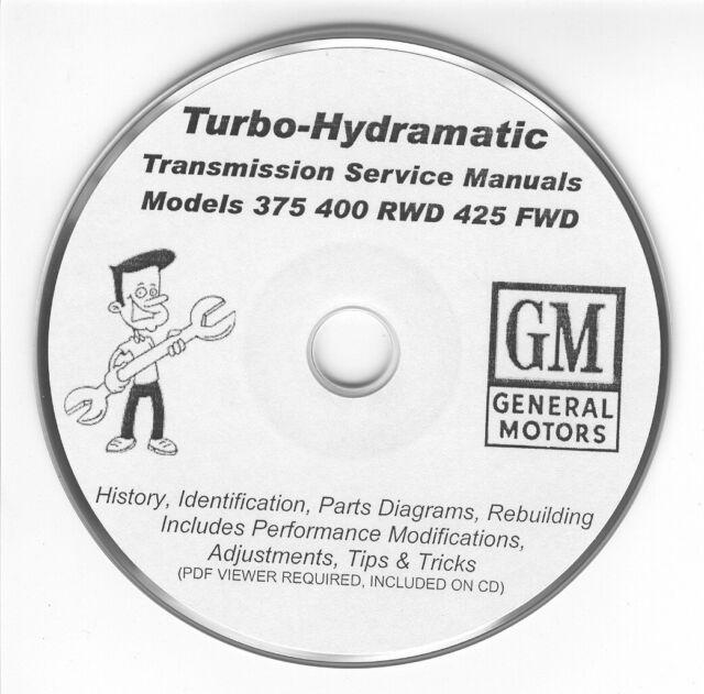 turbo 400 transmission rebuild manual pdf