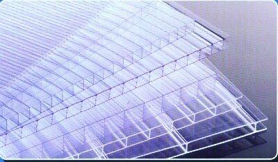 Hohlkammerplatten- Doppelstegplatten- Lichtplatten 4 mm