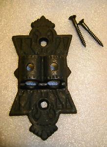 Double-Cast-Iron-Wall-Bracket-for-2-Oil-Kerosene-Lamps