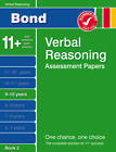 Bond Verbal Reasoning Assessment Papers 9-10 Years Book 2 by Malcolm Thomas (Pamphlet, 2011)