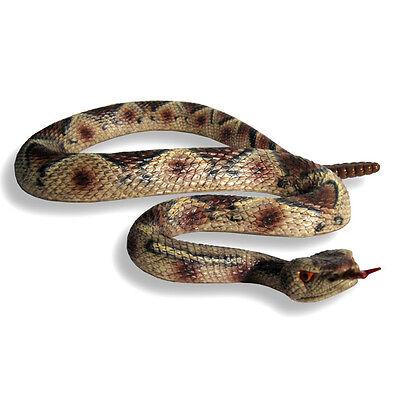 Lifesize Rattlesnake Viper Snake Halloween Prop Scary Joke Gag Afraid of Snakes