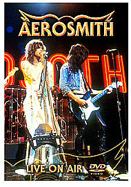 Aerosmith Live On Air DVD NEW SEALED Love In An Elevator/Dude Looks Like A Lady+