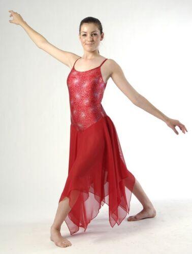 Pour commander élégant dos croisé noir rouge blanc lyrique robe danse costume