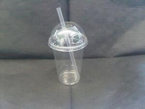 Smoothie-Cups-amp-Lids-16oz-x-100-FREE-BOX-STRAWS-amp-REDUCED-PRICE