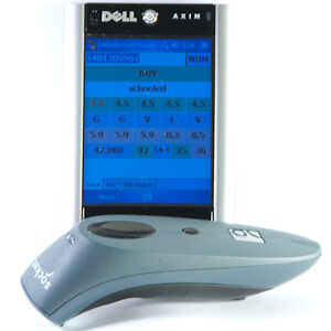 New-Socket-7E2-Handheld-Bluetooth-Laser-Scanner-Dell-X51-PDA-Scouting-Package