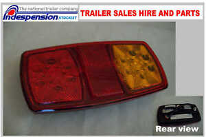 ONE-12-VOLT-LED-REAR-LIGHT-CLUSTER-TRAILER-VAN-TRIKE-4-FUNCTION-EASY-FIT