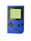 Nintendo Game Boy Pocket Launch Edition Blue Handheld System