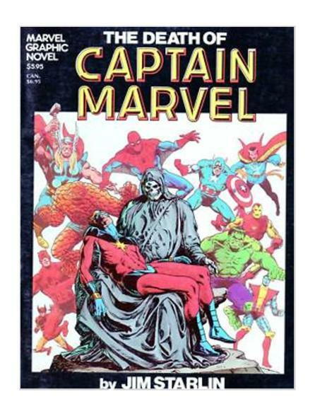 marvel graphic novel 1 the death of captain marvel 1982